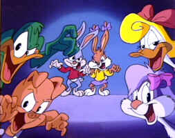 [The Whole Tiny Toons Gang]